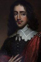 A portrait of Sir Warham St Leger hangs in the dining room along with many more family portraits
