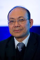 Haitong Securities Chairman Wang Kaiguo at Shanghai / Paris Europlace Financial Forum, in Shanghai, China, on December 1, 2010. Photo by Lucas Schifres/Pictobank