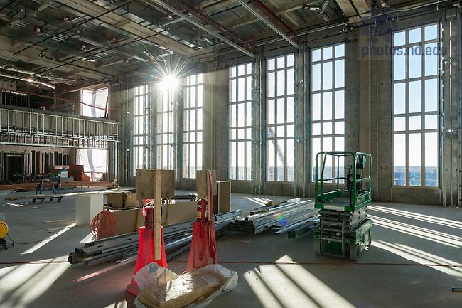 November 21, 2016; Duncan Student Center 7th floor (Photo by Matt Cashore/University of Notre Dame)