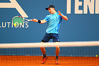 1st May 2020, Hohr Grenzhausen, Germany; Florian Broska during todays Tennis Point Exhibition, taking place just outside the small town of Hohr Grenzhausen which is the 1st official sporting event in 37 days in Germany