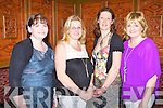 The organisers of the Presentation Secondary School Class of '86 Night of Memories at the Meadowlands hotel, Tralee on Saturday l-r: Brigid Marnal, Moria Horgan, Mary McElligott and Monica Dillane.