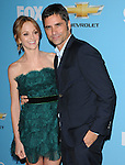 Jayma Mays & John Stamos. at Fox's Premiere Screening & Party for Glee held at Paramount Studios in Hollywood, California on September 07,2010                                                                   Copyright 2010  Hollywood Press Agency