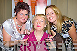 Patrica Healy Barradubh left and Carol  Fitzgerald Castlegregory from Neways International gives Joan Moynihan Glenflesk some make up tips at the Healty homes and Beauty show in the Malton Hotel Killarney on Sunday   Copyright Kerry's Eye 2008