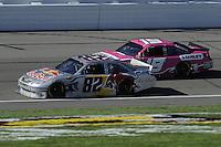 Scott Speed (#82) and Elliott Sadler (#19)