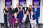 at the Kerry Sports awards in the Gleneagle Hotel on Friday night front row l-r: Mary McMorrow, Eimear Moriarty,Edward McMorrow, Riona Moriarty. Back row: Niamh McMorrow-Brennan, Brian O'Sullivan, Cara Moriarty, Andrej Bartos Sarah Cantilon, Kevin Moriarty