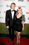 HOLLYWOOD, CA. - September 25: DJ Luke Worrall and Kelly Osbourne arrive at the 7th Annual Teen Vogue Young Hollywood Party at Milk Studios on September 25, 2009 in Hollywood, California.