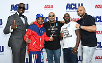 07 June 2019 - Hollywood, California - Yusef Salaam, Korey Wise, Raymond Santana, Antron McCray, Kevin Richardson. ACLU 25th Annual Luncheon held at J.W. Marriott at LA Live. Photo Credit: Birdie Thompson/AdMedia