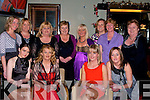 MEAL: Out for a meal to celebrate Women's Christmas in the Gally's Bar & Restaurant, castlemaine Road, Tralee on Tuesday night. Front l-r: Jennifer Coffey, Tina Coffey, Debbie Cunningham and Margaret Sheridan. Back l-r: Shanon Donnelly, Ann Marie Leahy, Noreen Lynch, Debra Cunningham, Eileen O'Shea, Aisling Moore, Tricia Donnelly and Breda Walsh.......