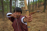 Paro -  traditional Archery, Bhutan