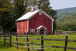 Historic Barn at Lew Beach, Sullivan County, Catskill Mountains, New York