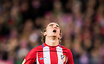 Antoine Griezmann of Atletico de Madrid reacts during their La Liga 2016-17 match between Atletico de Madrid vs Real Betis Balompie at the Vicente Calderon Stadium on 14 January 2017 in Madrid, Spain. Photo by Diego Gonzalez Souto / Power Sport Images