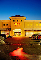 Exterior of an Acme brand supermarket.