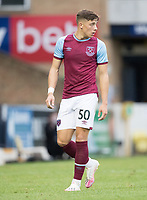 Harrison Ashby, West Ham U21's during Southend United vs West Ham United Under-21, EFL Trophy Football at Roots Hall on 8th September 2020