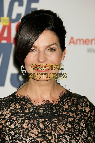 "SELA WARD.14th Annual Race to Erase MS Themed ""Dance to Erase MS"" held at the Century Plaza Hotel, Century City, California, USA, 13 April 2007..portrait headshot black lace dress top .CAP/ADM/RE.©Russ Elliot/AdMedia/Capital Pictures."