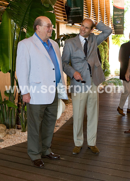 """**ALL-ROUND PICTURES FROM SOLARPIX.COM**.**WORLDWIDE SYNDICATION RIGHTS**.Prince Edward with close friend Andre Jordan at the Oceanico development and Victoria Golf course in Vilamoura where he was attending the opening of """"The Residences"""" apartments which were built by Andre Jordan..This pic:  Prince Edward and Andre Jordan.JOB REF:   9384  AB1       DATE:  27.06.09.**MUST CREDIT SOLARPIX.COM OR DOUBLE FEE WILL BE CHARGED**.**NO ONLINE USAGE BEFORE FEE  AGREED**.**CALL SOLARPIX : +34 952 811 768 or LOW RATE FROM UK 0844 617 7637**."""