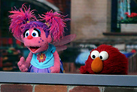 NEW YORK, NY - November 08 2018 Abby's Bubble Fun, Elmo at Today Show to talk about new season of Sesame Street in New York November 08, 2018 Credit:RW/MediaPunch
