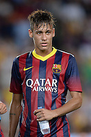 FUSSBALL  INTERNATIONAL   SAISON 2011/2012   02.08.2013 Gamper Cup 2013 FC Barcelona - FC Santos Neymar (Barca)