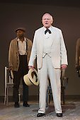 "16/10/2014. London, England. Julian Glover as The Interlocutor. The Musical ""The Scottsboro Boys"" transfers after a successful run at the Young Vic to the Garrick Theatre in Charing Cross Road - for a limited 20-week season, from 4 October 2014. With Colman Domingo as Mr Bones, Forrest McClendon as Deputy Tambo, Julian Glover as The Interlocutor and Dawn Hope as The Lady. Music and lyrics by John Kander and Frank Ebb, book by David Thompson, direction and choreography by Susan Stroman."