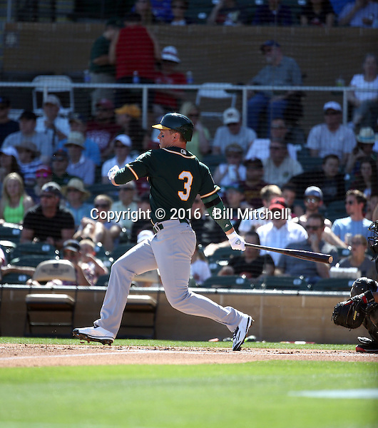 Chris Coghlan - Oakland Athletics 2016 spring training (Bill Mitchell)