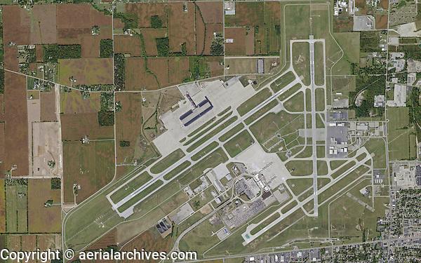 Dayton Ohio Airport Map aerial map Dayton International Airport, Dayton, Ohio | Aerial