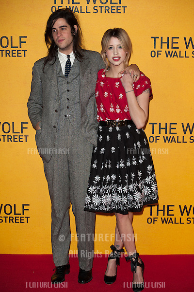 Peaches Geldof arriving for the UK Premiere of The Wolf Of Wall Street, Odeon Leicester Square, London. 09/01/2014 Picture by: Dave Norton/ Featureflash