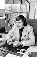 MONTREAL, CANADA -  File Photo - Serge Savard in 1973