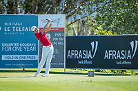 Jeunghun  Wang (KOR) during the 2nd round of the AfrAsia Bank Mauritius Open, Four Seasons Golf Club Mauritius at Anahita, Beau Champ, Mauritius. 30/11/2018<br /> Picture: Golffile | Mark Sampson<br /> <br /> <br /> All photo usage must carry mandatory copyright credit (&copy; Golffile | Mark Sampson)
