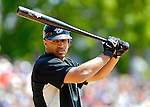 21 May 2007: Toronto Blue Jays outfielder Vernon Wells in action against the Baltimore Orioles at Doubleday Field during Baseball's Annual Hall of Fame Game in Cooperstown, NY. The Orioles defeated the Blue Jays 13-7 in front of a sellout crowd of 9,791 at the historical ballpark...Mandatory Credit: Ed Wolfstein Photo