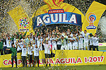 Atlético Nacional venció como local 5-1 (5-3 en el global) a Deportivo Cali. Final vuelta Liga Águila I-2017.