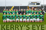 The Kerry team that played Tyrone in the National League in Fitzgerald Stadium on Sunday