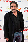 "Eduard Fernandez during the presentation of the spanish film ""La noche que mi Madre mato a mi Padre"" at Palacio de la Prensa in Madrid. April 27,2016. (ALTERPHOTOS/Borja B.Hojas)"