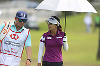 Jenny Shin (KOR) in action on the 9th during Round 4 of the HSBC Womens Champions 2018 at Sentosa Golf Club on the Sunday 4th March 2018.<br /> Picture:  Thos Caffrey / www.golffile.ie<br /> <br /> All photo usage must carry mandatory copyright credit (&copy; Golffile | Thos Caffrey)
