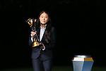 Homare Sawa, <br /> DECEMBER 20, 2015 - Football / Soccer : <br /> FIFA Club World Cup Japan 2015 <br /> award ceremony  <br /> at Yokohama International Stadium in Kanagawa, Japan.<br /> (Photo by Yohei Osada/AFLO SPORT)