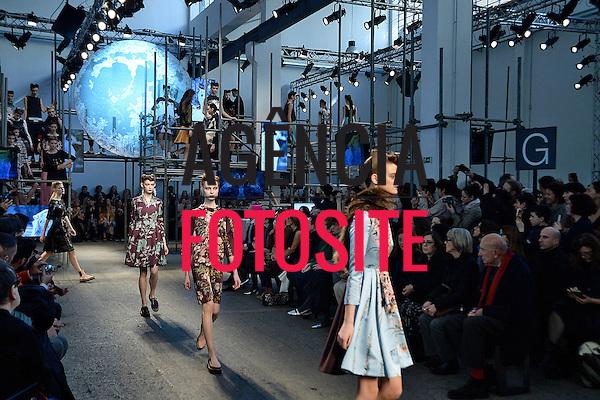 Milao, Italia &ndash; 02/2014 - Desfile de Antonio Marras durante a Semana de moda de Milao - Inverno 2014. <br /> Foto: FOTOSITE