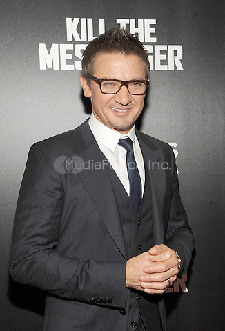 New York, NY- October 9: Jeremy Renner attends the  'Kill the Messenger' New York Premiere at the Museum of Modern Art on October 9, 2014 in New York City. Credit: John Palmer/MediaPunch