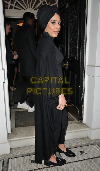 Mariah Idrissi attends the &quot;Perfect Eyelashes: The Ultimate Guideto Lash Extensions&quot; book launch party, Skin Associates, Wimpole Street, London, England, UK, on Thursday 26 November 2015.<br /> CAP/CAN<br /> &copy;CAN/Capital Pictures