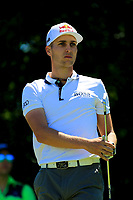 Matthias Schwab (AUT) during the second round of the Lyoness Open powered by Organic+ played at Diamond Country Club, Atzenbrugg, Austria. 8-11 June 2017.<br /> 09/06/2017.<br /> Picture: Golffile | Phil Inglis<br /> <br /> <br /> All photo usage must carry mandatory copyright credit (&copy; Golffile | Phil Inglis)
