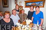 Geraldine McTiernan, Niall Kelly, Lutz Nyman, Phillis Healy, Gloria Nyman and Betty Kelly enjoying a family reunion at bella Bia on Sunday
