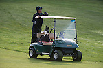 April 17, 2013; Bremerton, WA, USA; Loyola Marymount Lions men's golf head coach Alex Galvan during the WCC Golf Championships at Gold Mountain Golf Club.