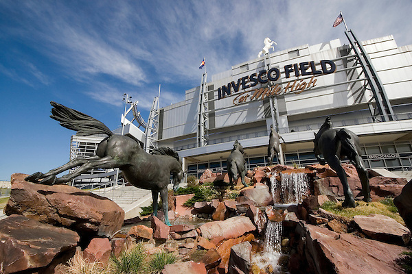 Old Invesco Stadium, Denver Broncos, Denver, Colorado, USA John offers private photo tours of Denver, Boulder and Rocky Mountain National Park.