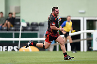 Ryan Bevington of the Dragons runs in a first half try. Pre-season friendly match, between Ealing Trailfinders and the Dragons on August 11, 2018 at the Trailfinders Sports Ground in London, England. Photo by: Patrick Khachfe / Onside Images