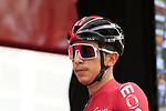 Sebastian Henao Gomez (COL) Team Ineos at sign on before the start of Stage 4 of La Vuelta 2019 running 175.5km from Cullera to El Puig, Spain. 27th August 2019.<br /> Picture: Eoin Clarke | Cyclefile<br /> <br /> All photos usage must carry mandatory copyright credit (© Cyclefile | Eoin Clarke)