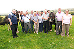 Traditional threshing methods will be showcased in Beaufort this weekend including the tradition of threshing using horses and an rare old-style fully working horse thresher. <br /> Front L-R Mike O'Shea, 'Jack', Michael Kennedy, Robin Suther, Eileen Kennedy, Sean Coffey, Brendan Ferris and Kathleen Breen. <br /> Back L-R Tom Johnson, Michael Mangan, Randall Joy, Jim Clifford, Tim O'Connor and Sean O'Donoghue.