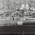 Olympic Torch,<br /> OCTOBER 10, 1964 - Opening Ceremony : The final runner Yoshinori Sakai carrying the Olympic Torch during the Opening Ceremony of 1964 Tokyo Olympic Games at National Stadium in Tokyo, Japan.<br /> (Photo by Shinichi Yamada/AFLO) [0348]