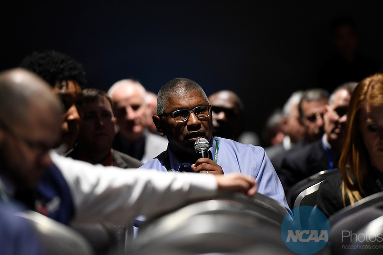 14 JAN 2016: The Inner Workings of the NCAA Board of Governors during the 2016 NCAA Convention takes place at the Marriott Rivercenter in San Antonio, TX. Justin Tafoya/NCAA Photos