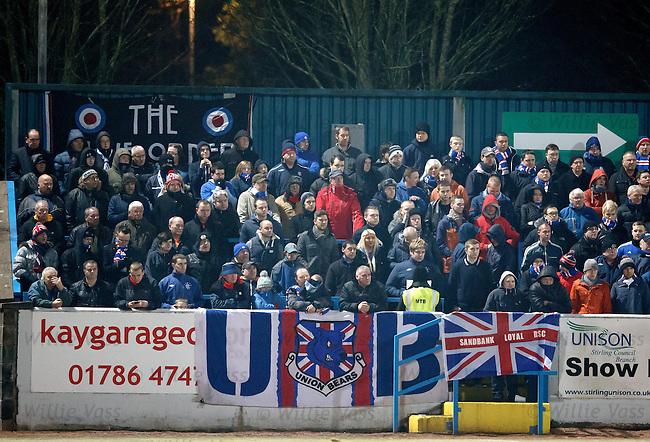 Cold Rangers fans