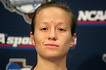 3 December 2005: Megan Rapinoe. The University of Portland Pilots held a press conference the day before playing in the NCAA Women's College Cup, the Division I Championship soccer game at Aggie Soccer Stadium in College Station, TX.