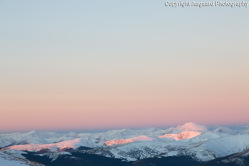 Sunrise from Mt. Bierstadt