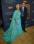 "Helen Mirren, Philip Martin 026 attends the Los Angeles Premiere Of The New HBO Limited Series ""Catherine The Great"" at The Billy Wilder Theater at the Hammer Museum on October 17, 2019 in Los Angeles, California."