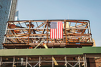 Construction of the Hudson Yards development in New York on Sunday, October 30, 2016.  (© Richard B. Levine)